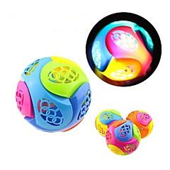 お買い得  ライトアップおもちゃ-LED照明 おもちゃ 球体 クラシックテーマ きらきら エレクトリック ソフトプラスチック 小品