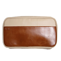 abordables Accessoires de MacBook-Sacs de Rangement pour Couleur Pleine faux cuir Source d'Energie / Clé USB / Batterie Externe
