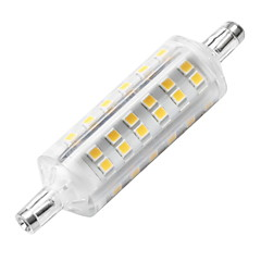 cheap LED Bulbs-YWXLIGHT® 1pc 6W 500-600lm R7S LED Corn Lights 72 LED Beads SMD 2835 Decorative LED Light Warm White 220-240V