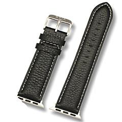 preiswerte Apple Watch Armbänder-Uhrenarmband für Apple Watch Series 3 / 2 / 1 Apple Klassische Schnalle Leder Handschlaufe