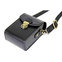 お買い得  ケース、バッグ & ストラップ-sony rx100 rx100 v m2 m3 m4 m5 hx90 hx60 wx500(色が揃っています)用dengpin puレザーカメラケースバッグ