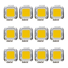 voordelige LED's-12st 1600 LED-Chip Messinki Lampaccessoire 20 W