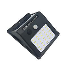 abordables Lumières Extérieures-brelong 1 pc 4w 25led capteur de corps humain étanche inondation extérieure lumière blanche