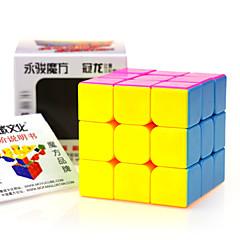 preiswerte Magischer Würfel-Zauberwürfel YONG JUN 3*3*3 Glatte Geschwindigkeits-Würfel Magische Würfel Puzzle-Würfel Profi Level Geschwindigkeit Geschenk Klassisch &