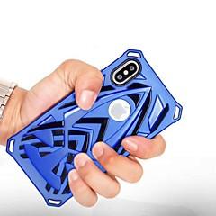 Недорогие Кейсы для iPhone 7-Кейс для Назначение Apple iPhone X iPhone 8 Plus Защита от удара Задняя крышка броня Твердый пластик для iPhone X iPhone 8 Pluss iPhone 8