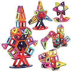ieftine -Blocuri magnetice Jucarii Mașină Vehicule Transformabil Interacțiunea părinte-copil Clasic Plastic moale 40 Bucăți