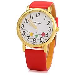 preiswerte Herrenuhren-JUBAOLI Herrn / Damen Armbanduhr Chinesisch Armbanduhren für den Alltag / Cool Legierung Band Glanz Schwarz / Weiß / Rot