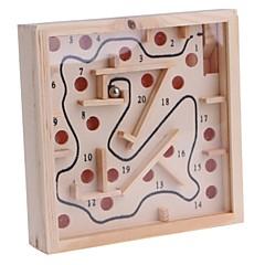 billige puslespil Legetøj-Træ labyrint Labyrint Labyrint Legetøj Kvadrat Klassisk Tema Forældre-barninteraktion Børne Voksne Gave