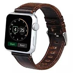 tanie Bransoletki do Apple Watch-Watch Band na Apple Watch Series 3 / 2 / 1 Apple Opaska na nadgarstek Współczesna klamra Skóra