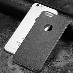 Недорогие Кейсы для iPhone X-Назначение iPhone X iPhone 8 Чехлы панели Матовое Задняя крышка Кейс для Сияние и блеск Мягкий Термопластик для Apple iPhone X iPhone 8
