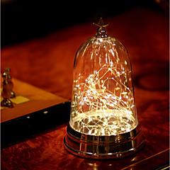 preiswerte Ausgefallene LED-Beleuchtung-1pc LED-Nachtlicht Wärm Weiß AAA-Batterien angetrieben Berührungssensor Nacht Mit USB-Anschluss