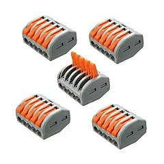 billige LED-stribelys-ZDM® 5pcs Elektrisk stik Plast Strip Light tilbehør