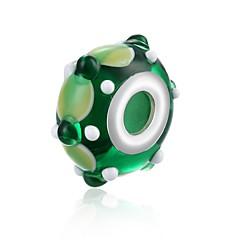 olcso Gyöngyök-DIY ékszerek 1 Perlice Zöld Golyó Üveg üveggyöngy 1.8 cm DIY Karkötők Nyakláncok