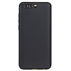 halpa Huawei kotelot / kuoret-Etui Käyttötarkoitus Huawei Honor 9 Himmeä Takakuori Yhtenäinen väri Pehmeä TPU varten Honor 9