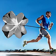 الرياضة في الهواء الطلق تشغيل التدريب السحب المظلة