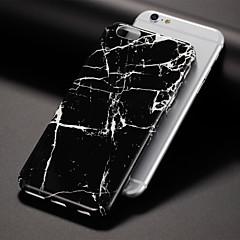 Недорогие Кейсы для iPhone 6 Plus-Кейс для Назначение Apple iPhone 7 / iPhone 7 Plus С узором Кейс на заднюю панель Мрамор Твердый ПК для iPhone 7 Plus / iPhone 7 / iPhone 6s Plus