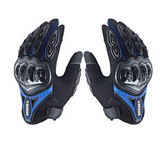 preiswerte Autozubehör-Vollfinger Unisex Motorrad-Handschuhe Nylon Rutschfest