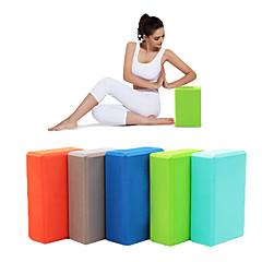 abordables Accesorios para Fitness-Bloque para yoga Alta densidad, A prueba de humedad, Ligero, Resistente a los olores EVA Ayuda en la Evolución y alineación de Posturas, Ayuda para el equilibrio y flexibilidad por Pilates / Fitness