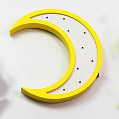 お買い得  LED アイデアライト-1個 LEDナイトライト AAAバッテリ駆動 デコレーション