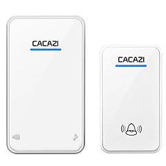 voordelige Toegangscontrolesystemen-Ding Dong Muziek One to One Doorbell Geluid verstelbaar Draadloos deurbel 300 Oppervlak Gemonteerd