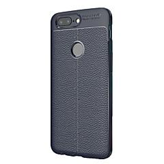 voordelige Overige hoesjes-hoesje Voor OnePlus OnePlus 5T 5 3 3T Ultradun Achterkant Effen Kleur Zacht TPU voor One Plus 5 OnePlus 5T One Plus 3T