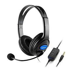 cheap PS3 Accessories-Wired Game Headset Bass Stereo for PS4 and Xbox one and phone and PC