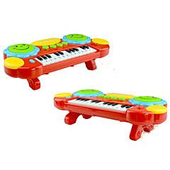 abordables Caja de Música-Pianos eléctricos de juguete Juguetes Piano Plásticos 1 Piezas Niños Regalo