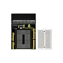 abordables Placas Base-keyestudio micro bit prototipo de placa de arranque v1 con tablero pequeño