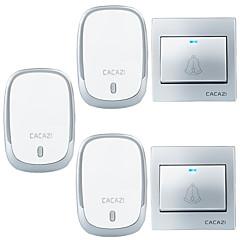 olcso Beléptető rendszerek-Ding Dong Zene Két-három csengő hang beállítható Vezeték nélküli csengő 300 Felületre felállítható