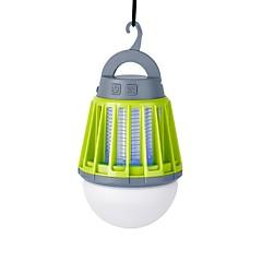 billige Lanterner og teltlygter-Lanterner & Telt Lamper LED 180 lm 3 Tilstand LED med USB-kabel Insekt afvisende Bærbar Vandtæt Camping/Vandring/Grotte Udforskning Sort