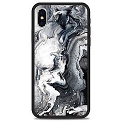billige Etuier til iPhone 7-Etui Til Apple iPhone X iPhone 8 Plus Mønster Bagcover Linjeret / bølget Marmor Hårdt Akryl for iPhone X iPhone 8 Plus iPhone 8 iPhone 7