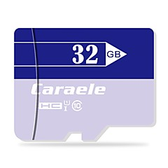 お買い得  メモリカード-Caraele 32GB マイクロSDカードTFカード メモリカード クラス10 CA-2