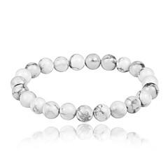 preiswerte Armbänder-Herrn Damen Weißer Türkis Strang-Armbänder Armband - Retro, Böhmische, Modisch Armbänder Weiß Für Geschenk Party