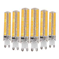 お買い得  LED 電球-YWXLIGHT® 6本 10W 900-1000lm G9 LED2本ピン電球 T 136 LEDビーズ SMD 5730 調光可能 装飾用 温白色 クールホワイト 110-130V 220-240V