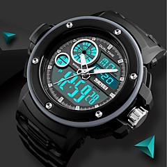 preiswerte Digitaluhren-SKMEI Herrn digital Digitaluhr Sportuhr Armbanduhren für den Alltag Chinesisch Kalender Chronograph Wasserdicht Nachts leuchtend Stopuhr