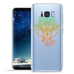 Χαμηλού Κόστους Galaxy S6 Θήκες / Καλύμματα-tok Για Samsung Galaxy S8 Plus S8 Με σχέδια Πίσω Κάλυμμα Ελέφαντας Ζώο Μαλακή TPU για S8 Plus S8 S7 edge S7 S6 edge plus S6 edge S6