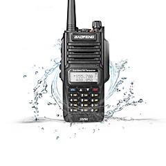 abordables Walkie Talkies-BAOFENG UV-9R Walkie Talkie  Portátil Banda Dual Impermeable Walkie talkie Radio de dos vías