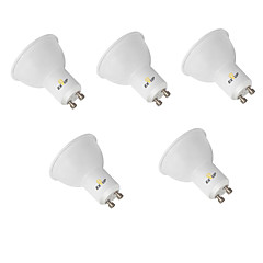 cheap LED Bulbs-EXUP® 5pcs 9W 850-950lm GU10 LED Spotlight MR16 12 LED Beads SMD 2835 Decorative Warm White Cold White 110-130V 220-240V