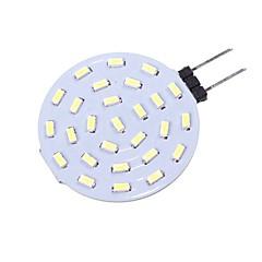 preiswerte LED-Birnen-SENCART 1pc 1.5W 160lm G4 LED Doppel-Pin Leuchten T 27 LED-Perlen SMD 4014 Dekorativ Warmes Weiß / Weiß 12V