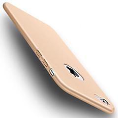 Недорогие Кейсы для iPhone-Кейс для Назначение Apple iPhone 6 iPhone 7 Защита от удара Кейс на заднюю панель Сплошной цвет Мягкий ТПУ для iPhone 7 Plus iPhone 7