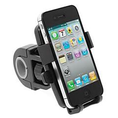 abordables Monturas y Soportes-Montura para Bicicleta / Montura de Teléfono para Bicicleta GPS, Vuelo invertido de 360 grados, Giratorio Ciclismo Recreacional / Ciclismo / Bicicleta / BMX Inoxidable / Sintético / ABS Negro