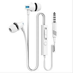 billige Hodetelefoner-Med ledning Hodetelefoner Piezoelektricitet Plastskall Mobiltelefon øretelefon Headset