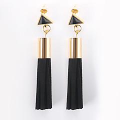 abordables Bijoux pour Femme-Femme Obsidienne Glands Boucles d'oreille goutte - Gland, Mode Noir Pour Quotidien Soirée