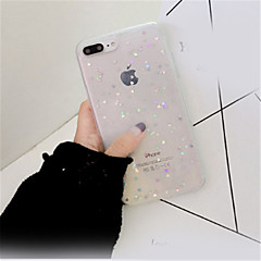 abordables Fundas para iPhone 6 Plus-Funda Para Apple iPhone X iPhone 7 Plus Diseños Funda Trasera Brillante Suave TPU para iPhone X iPhone 8 Plus iPhone 8 iPhone 7 Plus