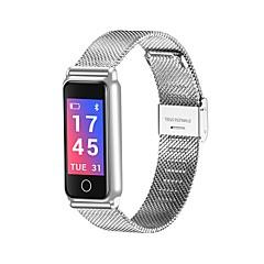 preiswerte Damenuhren-Herrn Damen Armbanduhren für den Alltag Modeuhr Digital Wasserdicht Bluetooth Kalender Legierung Band digital Luxus Modisch Schwarz / Silber / Gold - Gold Schwarz Silber