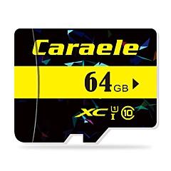 お買い得  メモリカード-Caraele 64GB マイクロSDカードTFカード メモリカード クラス10 CA-2