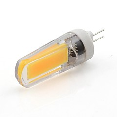 お買い得  LED 電球-WeiXuan 1個 3W 265lm G4 LED2本ピン電球 T 1 LEDビーズ COB 温白色 クールホワイト 220-240V