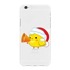 Недорогие Кейсы для iPhone 7 Plus-Кейс для Назначение Apple iPhone X iPhone 8 Plus С узором Кейс на заднюю панель Рождество Мультипликация Животное Мягкий ТПУ для iPhone X