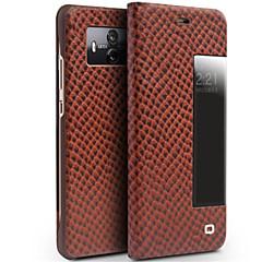 Недорогие Чехлы и кейсы для Huawei Mate-Кейс для Назначение Huawei Mate 10 pro Mate 10 Защита от удара с окошком Флип Чехол Сплошной цвет Твердый Настоящая кожа для Mate 10