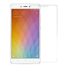 Недорогие Защитные плёнки для экранов Xiaomi-Защитная плёнка для экрана XIAOMI для Xiaomi Redmi Note 4 Закаленное стекло 1 ед. Защитная пленка для экрана Защита от царапин 2.5D